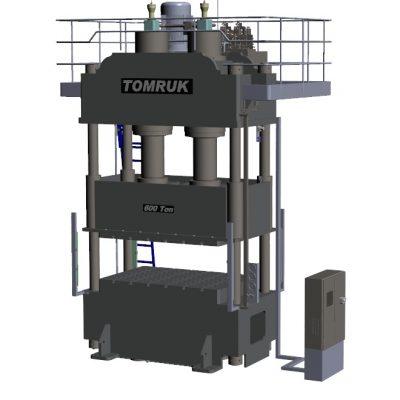 600 T Presse 3D
